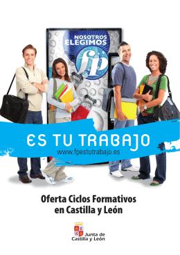 folleto muestra fp.indd - Centro Integrado de Formación Profesional