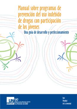 Manual sobre programas de prevención del uso indebido de drogas