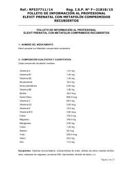 Ref.: RF537711/14 Reg. I.S.P. N° F—21818/15 FOLLETO DE