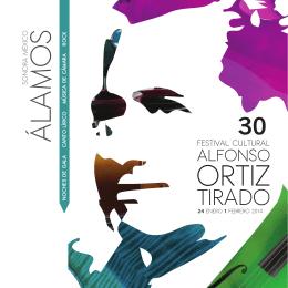 Programa del Festival Cultural Alfonso Ortiz Tirado