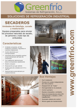 Folleto Secaderos ESP