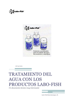 Folleto completo productos Labo-Fish