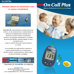FOLLETO ON CALL plus