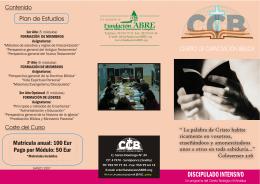 Folleto CCB_2007