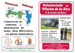 Folleto Voluntariado - 2013.cdr