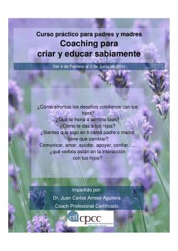 Coaching para criar y educar sabiamente