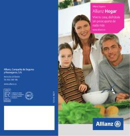 Folleto Allianz Hogar - Allianz seguro seguros