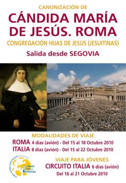 ROMA. 4 días (avión) - Halcón Peregrinaciones