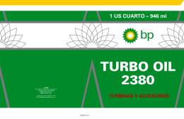 Descargar Folleto Informativo TURBO OIL 2380