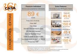 Lista precios CASA360 Es