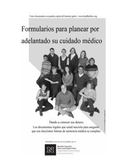 Spanish Advance Care Planning Documents