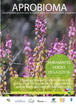 folleto info aprobioma pre - Asociación Pro Biodiversidad Maldonado