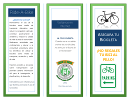 Seguridad - Ride A Bike