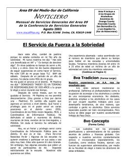 Agosto - Msca09aa.org