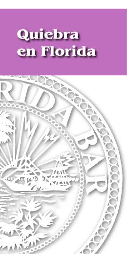 Quiebra en Florida - Kalis Kleiman & Wolfe
