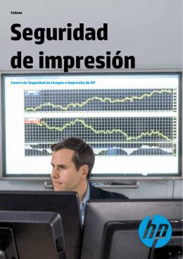 Centro de Seguridad de Imagen e Impresión de HP