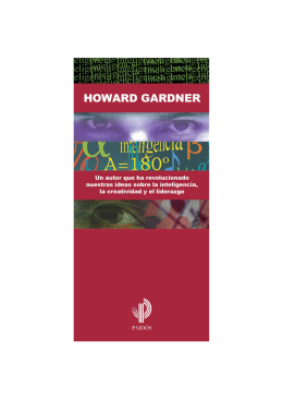 Folleto Howard Gardner OK