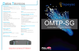Folleto OMTP Smart Grid v2.0