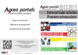 Folleto extraescolares 2012-13