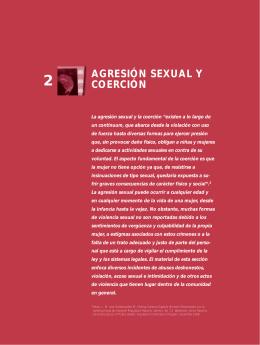 2. Agresión sexual y coerción