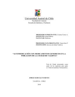 indice - Tesis Electrónicas UACh