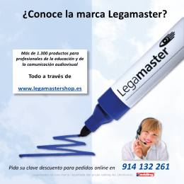 FOLLETO LEGAMASTER baja interactivo
