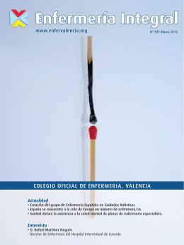 Enfermería Integral - Colegio de Enfermería de Valencia