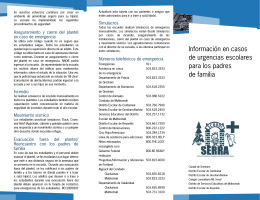 SERRA Parent Flyer Spanish.indd