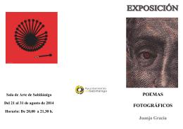 2014-08-21 Folleto exposición Poemas fotográficos de Juanjo Gracia