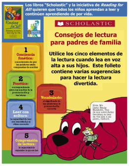 Scholastic Brochure Spanish website format.pub