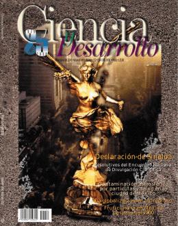 Mayo-junio - Revista Ciencia y Desarrollo