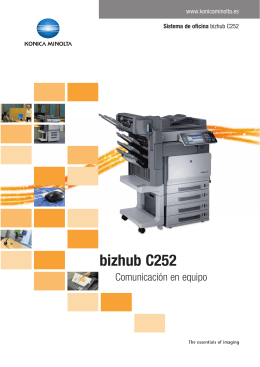 BizHub C252