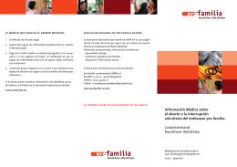 información médica sobre el aborto o la interrupción voluntaria del