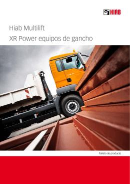 Hiab Multilift XR Power equipos de gancho