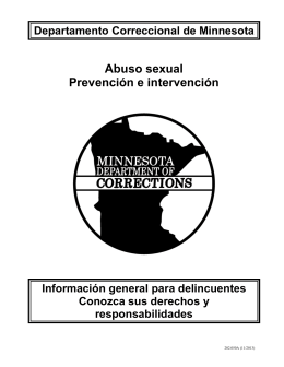 Abuso sexual Prevención e intervención