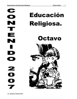 02 Folleto de Educación Religiosa octavo