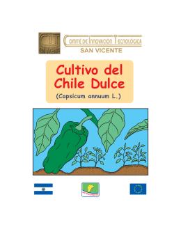 Cultivo del Chile Dulce.FH11