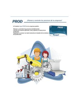 Folleto PRODx