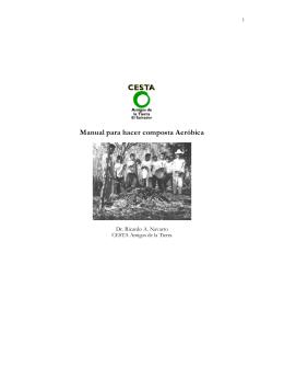 Manual para hacer composta Aeróbica