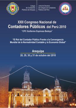folleto 22 congreso_vertical.cdr - Colegio de Contadores Públicos