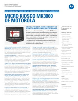 Micro Kiosco MK3000