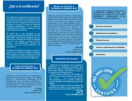 Folleto 2014 v01.cdr - CECyT 3 - Instituto Politécnico Nacional