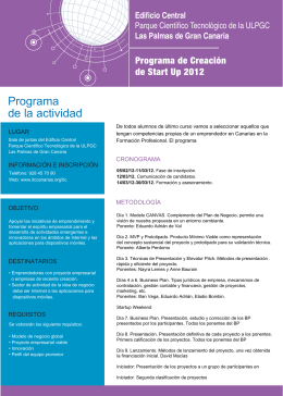 Folleto del Programa_Start Up