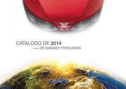 CATALOGO DE 2014 - Massey Ferguson