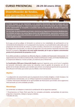 programa oficial del curso