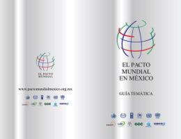 fondo folleto - Mapeo de Promotores de RSE