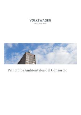 Principios Ambientales del Consorcio