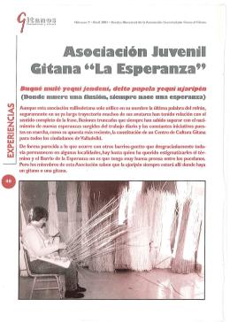 Asociación Juvenil Gitana La Esperanza (Valladolid)