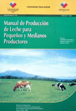 Manual de Producción de Leche para Pequeños y - Inicio