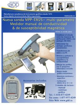 Folleto MPP - Instrumentation GDD